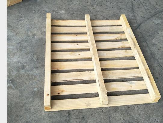 川字型两面进叉的全新松木托盘,上海时开实业生产厂家专业定制