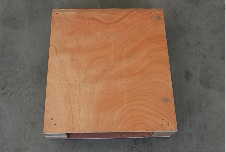 家具板木托盘正面图