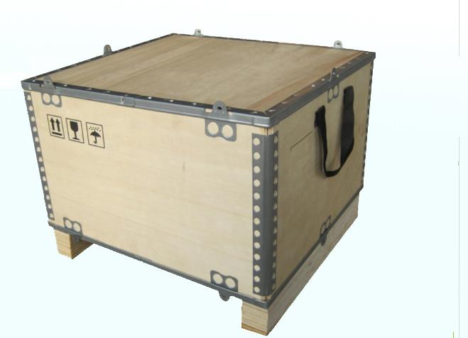 出口木箱(可拆御钢边箱)