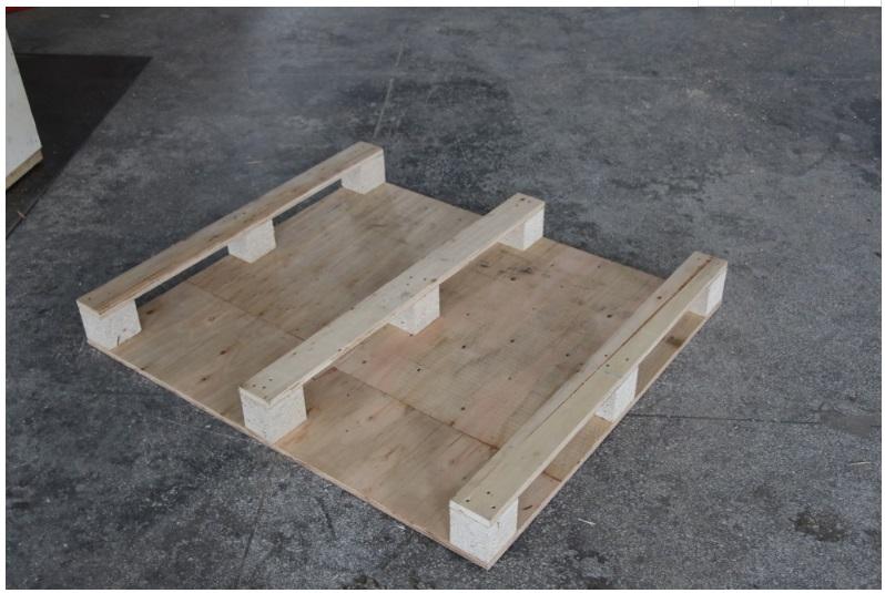 膠合板木托盤的反面圖片