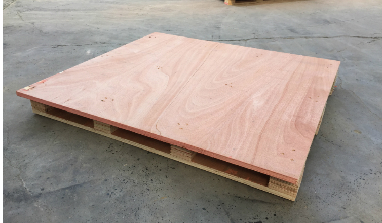 免熏蒸木托盤--紅板
